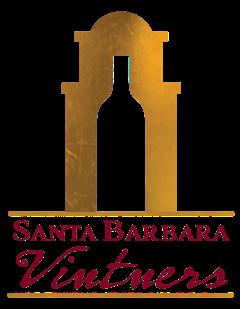 Santa Barbara Vintners Logo in greyscale